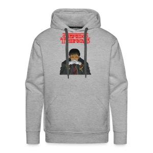 Gendo things - Sudadera con capucha premium para hombre
