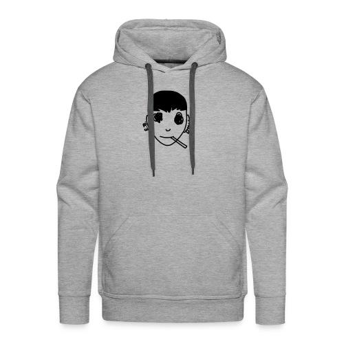 << smoke >> - Sweat-shirt à capuche Premium pour hommes