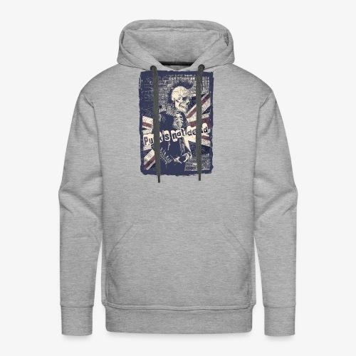 Punks not dead - Bluza męska Premium z kapturem