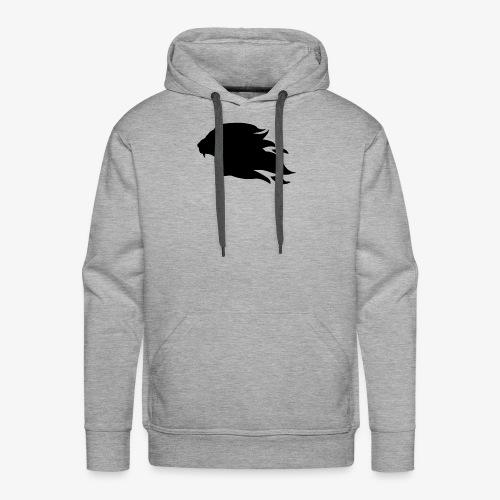 PR3DATOR (Half Logo) [Black] - Men's Premium Hoodie