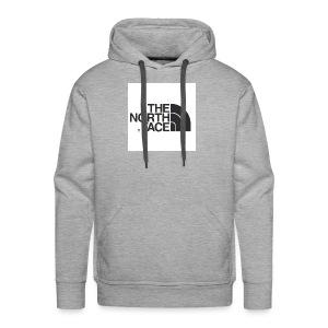 the north face logo - Men's Premium Hoodie
