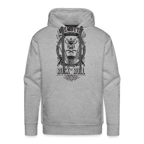 Rock'n'roll - Sweat-shirt à capuche Premium pour hommes