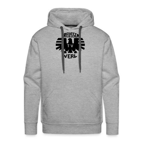 Preussen_Logo_schwarz - Männer Premium Hoodie