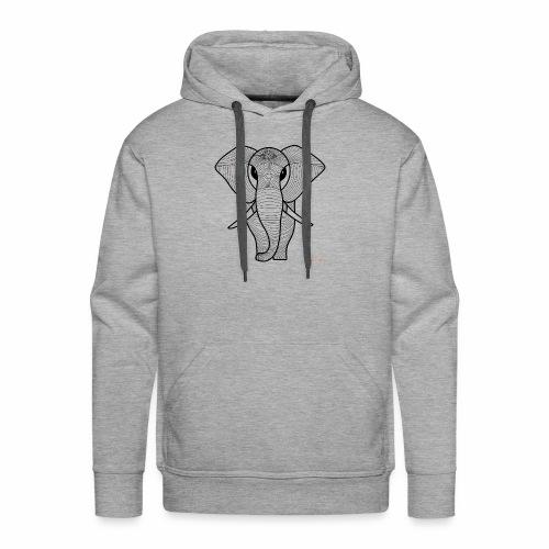 Elephant - Sudadera con capucha premium para hombre