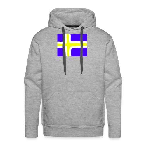 SwedishFlag Caps - Premium hettegenser for menn