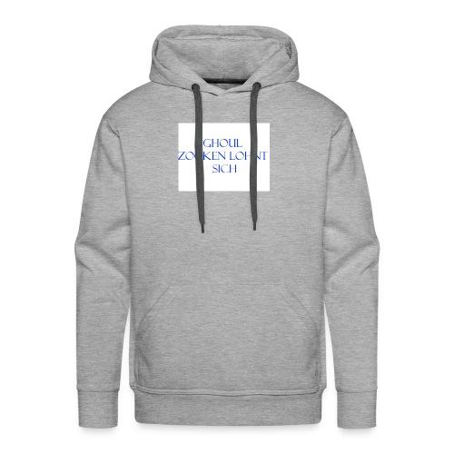 Name+Slogan - Männer Premium Hoodie
