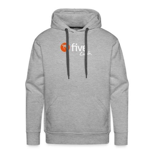 Logo five-Coach - Männer Premium Hoodie