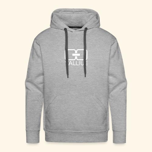 Valliue Grey collection - Sweat-shirt à capuche Premium pour hommes