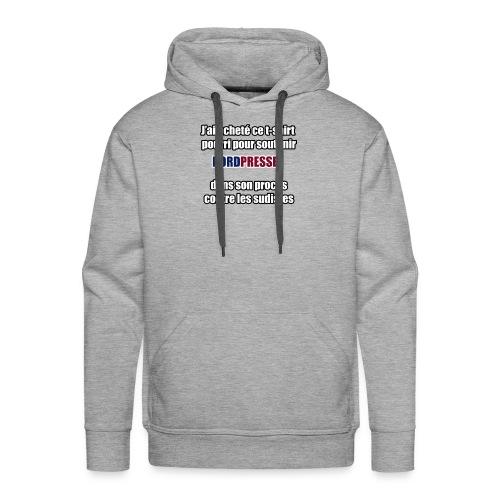 nordpresse - Sweat-shirt à capuche Premium pour hommes