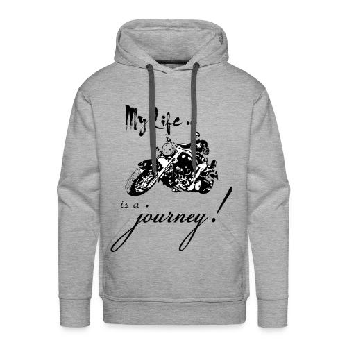 Life is a journey - Men's Premium Hoodie