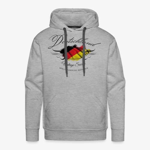 Vintage Deutschland - Männer Premium Hoodie