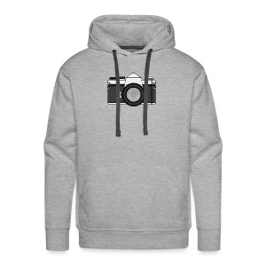 Shot Your Photo - Felpa con cappuccio premium da uomo