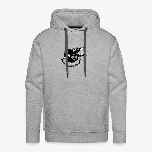 wolf - Sweat-shirt à capuche Premium pour hommes