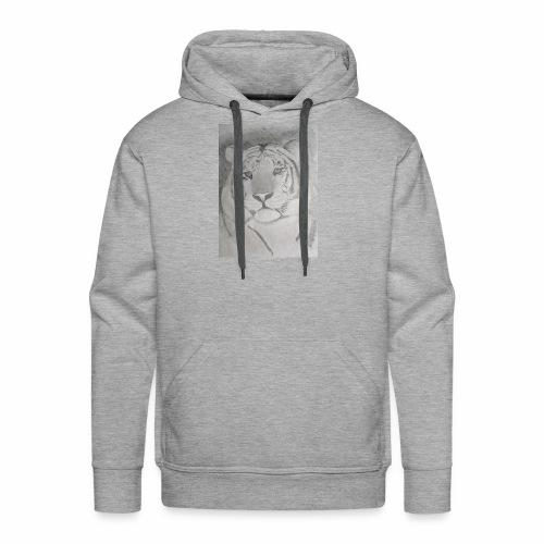 tiger art - Men's Premium Hoodie
