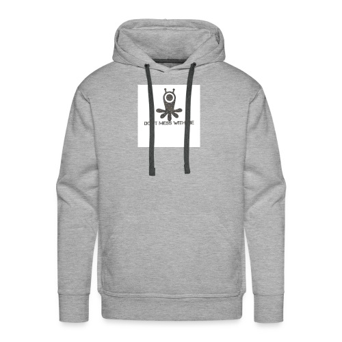 Dont mess whith me logo - Men's Premium Hoodie