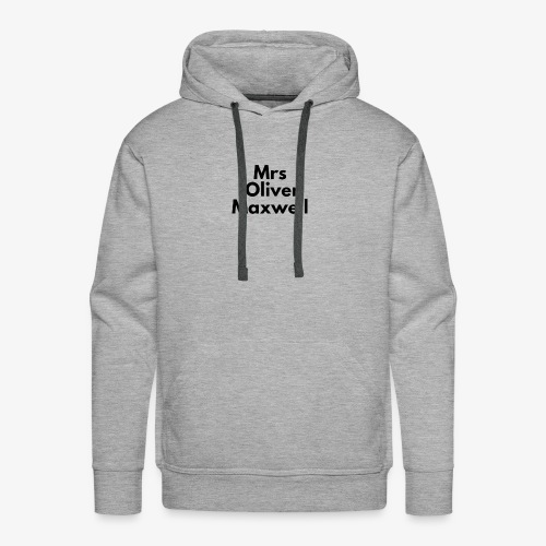 Mrs Oliver Maxwell Shirt - Men's Premium Hoodie