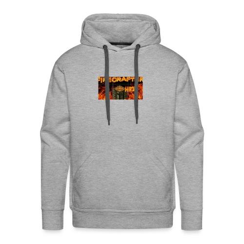 Firecrafterxhd merch - Männer Premium Hoodie