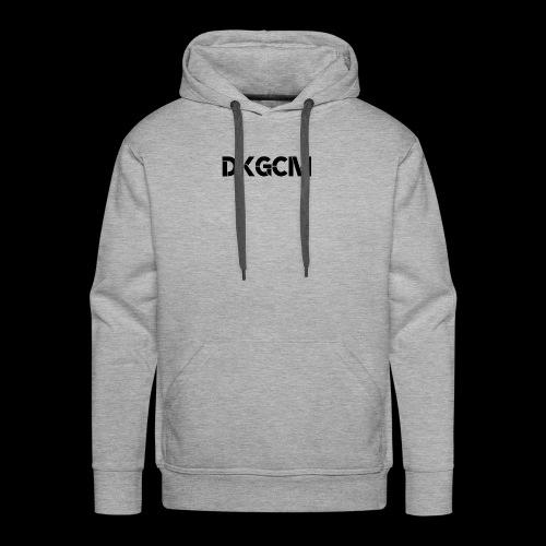 DKGCM - Herre Premium hættetrøje