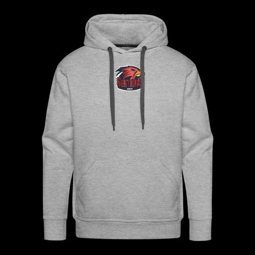 Sektion9 logo Rot - Männer Premium Hoodie