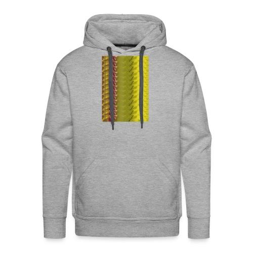 Motif chaire - Sweat-shirt à capuche Premium pour hommes
