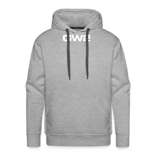 OW2 Logo Evolution White - Men's Premium Hoodie