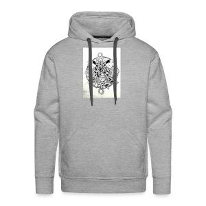 guerriere celtique entrelacs bretagne femme - Sweat-shirt à capuche Premium pour hommes