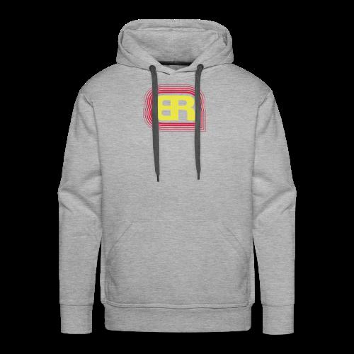 Logo Rot/Gelb - Männer Premium Hoodie