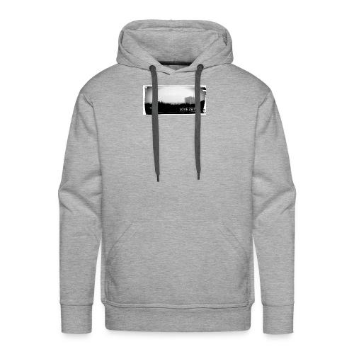 Zeitzer Skyline - Männer Premium Hoodie