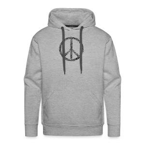 PEACE statement design - Männer Premium Hoodie