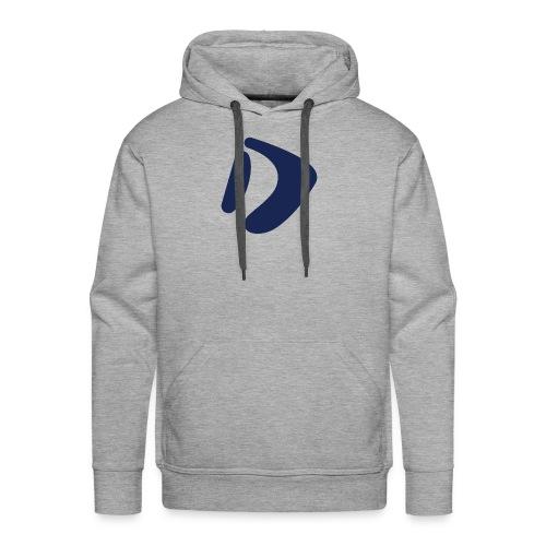 Logo D Blue DomesSport - Männer Premium Hoodie