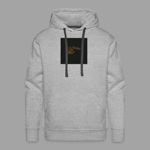 Günni Günter Design Black Background- - Männer Premium Hoodie