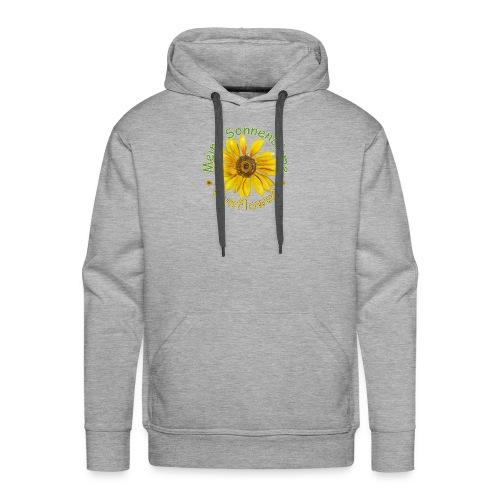 Meine Sonnenblume - Männer Premium Hoodie