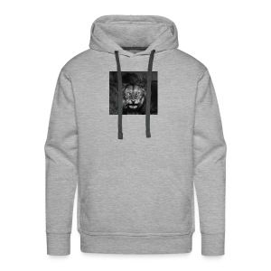 great lion picture - Mannen Premium hoodie