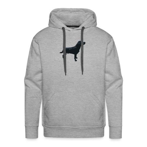 Labrador stehend - Männer Premium Hoodie
