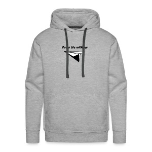 Come fly with me - Mannen Premium hoodie