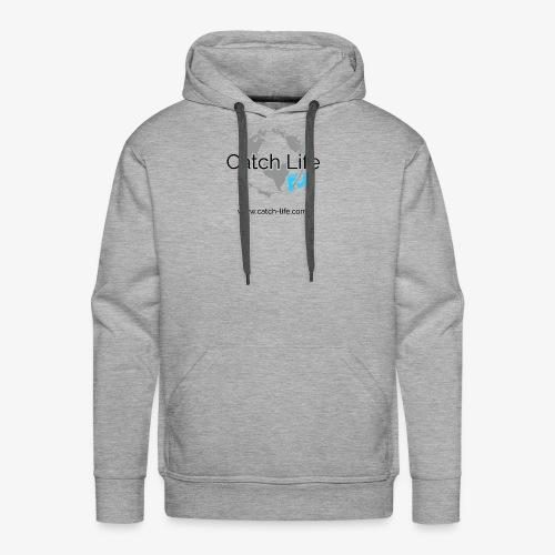 Catch Life Logo - Men's Premium Hoodie