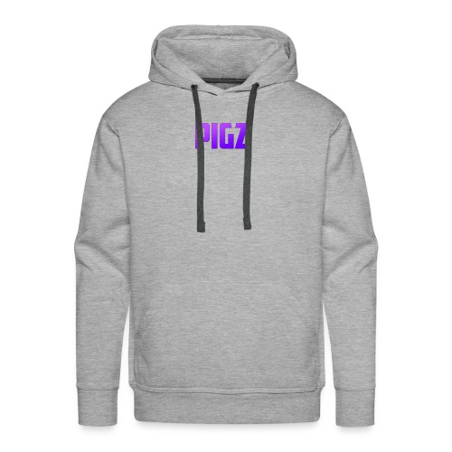 Pigz In Purple! - Men's Premium Hoodie