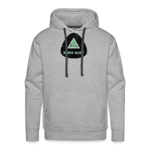 Zen Hap Rounded Triangle - Men's Premium Hoodie
