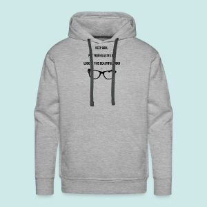 Keep Cool Glasses - Sweat-shirt à capuche Premium pour hommes