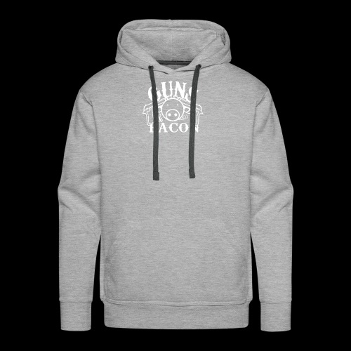 Guns and Bacon - Männer Premium Hoodie