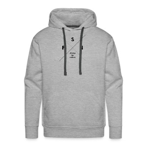 strong far nation - Kreuz - Männer Premium Hoodie