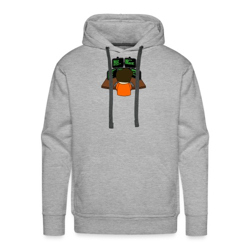 The small coder - Men's Premium Hoodie