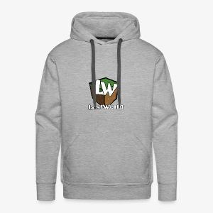 Logo LastWorld Transparent - Sweat-shirt à capuche Premium pour hommes