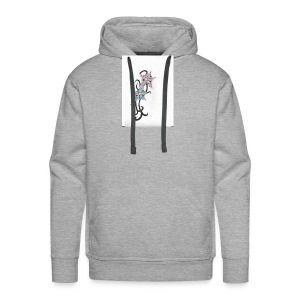flower design - Men's Premium Hoodie