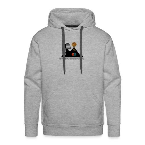 Sphynx Bitcoin - Sweat-shirt à capuche Premium pour hommes