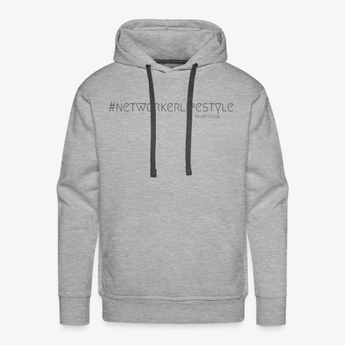 NETWORKERLIFESTYLE - Hustle Fashion by AMTDesign - Männer Premium Hoodie