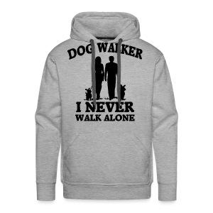 Dog Walker - Männer Premium Hoodie
