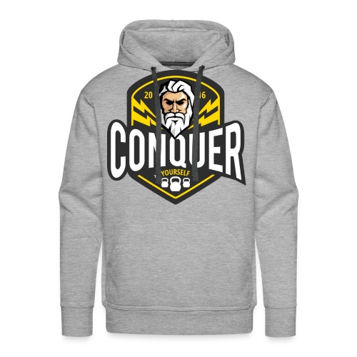 Conquer Yourself Clothing - Männer Premium Hoodie