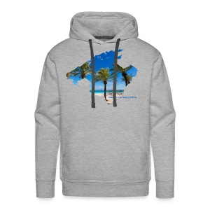 Mallorca Map - Dream of Mallorca - Männer Premium Hoodie