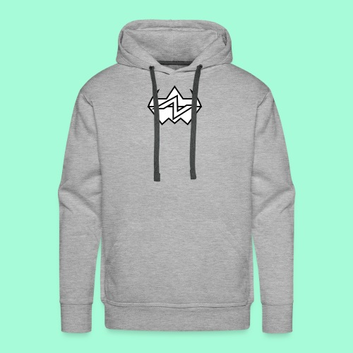 Geometria - Felpa con cappuccio premium da uomo